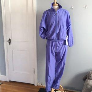 Lavender Kaelin Track Suit | Jacket + Pant Set
